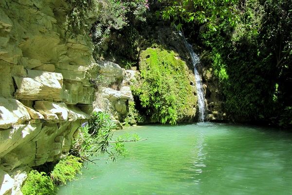Adonis Cypruss Waterfalls